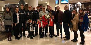 Alanya Beşiktaşlılar Derneği'nden Beşiktaş'a ziyaret