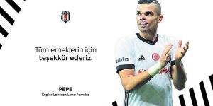 Beşiktaş'tan resmi Pepe açıklaması