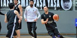 Beşiktaş'ın Banvit maçı hazırlıkları bir eksikle başladı