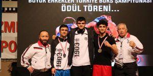 Beşiktaş boksta Türkiye Şampiyonu oldu