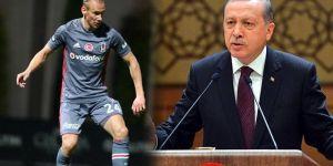 Domagoj Vida, Cumhurbaşkanı Erdoğan'ın yemeğine katılacak