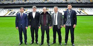 Beşiktaş'a Özbekistan'dan ziyaret