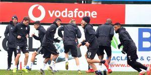 Beşiktaş'ta Konyaspor maçı hazırlıkları sürüyor