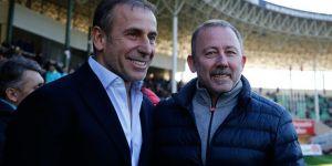 Beşiktaş'ta Abdullah Avcı ve Sergen Yalçın önde