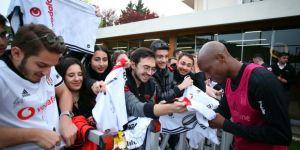 5 talihli Beşiktaş antrenmanına götürüldü