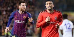 Messi birinci, Burak Yılmaz ikinci...