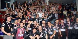 Beşiktaş Mogaz'dan 45 kupa