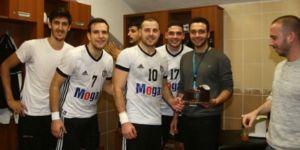 Beşiktaş Mogaz'da peş peşe ayrılıklar