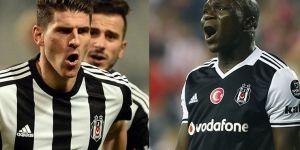 Beşiktaş'ta Mario Gomez ve Vincent Aboubakar gündeme geldi