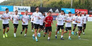 Beşiktaş ara vermeden Trabzon maçına hazırlanacak