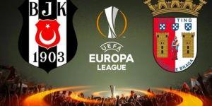 Beşiktaş - Braga maçı öncesi muhtemel 11'ler