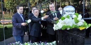 Ahmet Nur Çebi, Atatürk'ü anma etkinliğine katıldı