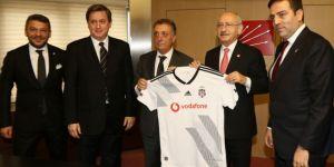 Beşiktaş yönetiminden Kemal Kılıçdaroğlu'na ziyaret