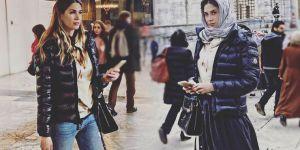Boateng'in eşi Melissa Satta, İstanbul'u keşfe çıktı