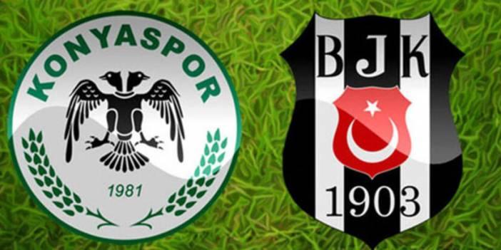 Beşiktaş'ın Konyaspor maçı 11'i belli oldu