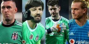 ''FEDA'' döneminden bu yana Beşiktaş'ın kaleci performansları