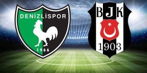 Denizlispor - Beşiktaş maçına 559 taraftar