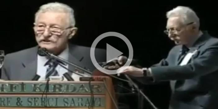 TARİHTE BUGÜN | Süleyman Seba'nın hiç unutulmayan veda konuşması (VİDEO)
