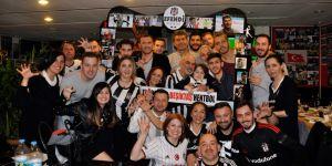 Beşiktaş Mogaz 13. Şampiyonluğu Kutladı