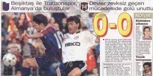 TARİHTE BUGÜN | Beşiktaş-Trabzonspor maçını seyirciler yönetti!