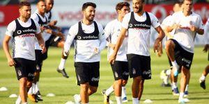 İşte Beşiktaş'ın akşam idmanından kareler!