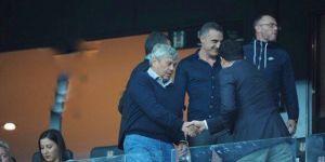 Mircea Lucescu, Vodafone Park'ta Beşiktaş'ı izledi!