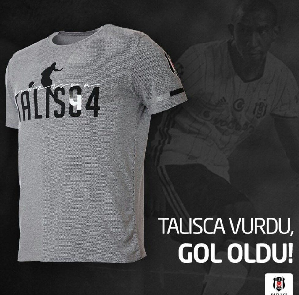 Talisca Tisortleri Satisa Cikti