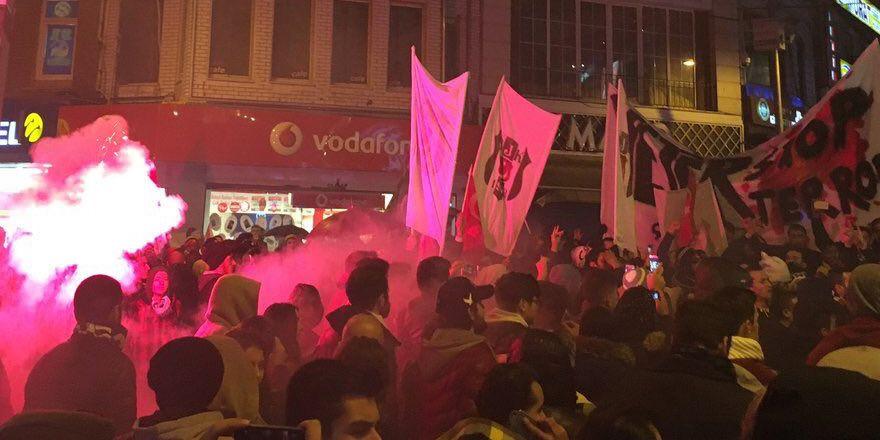 Beşiktaş'ta tarihi anlar!