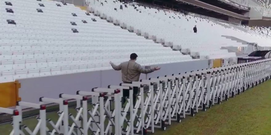 """""""İçerde"""" dizisinde Vodafone Arena sahnesi"""