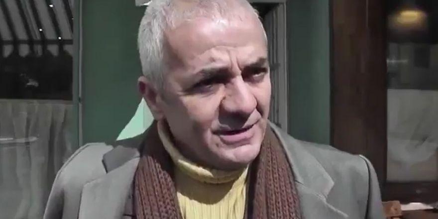 Zafer Algöz, Beşiktaş Başkanlığına adaylığını açıklıyor. (9 Mart 2012)