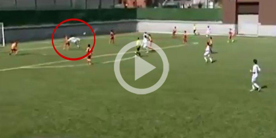 Beşiktaş'tan nice Cenk'ler yetişiyor! İşte mükemmel gol (VİDEO)