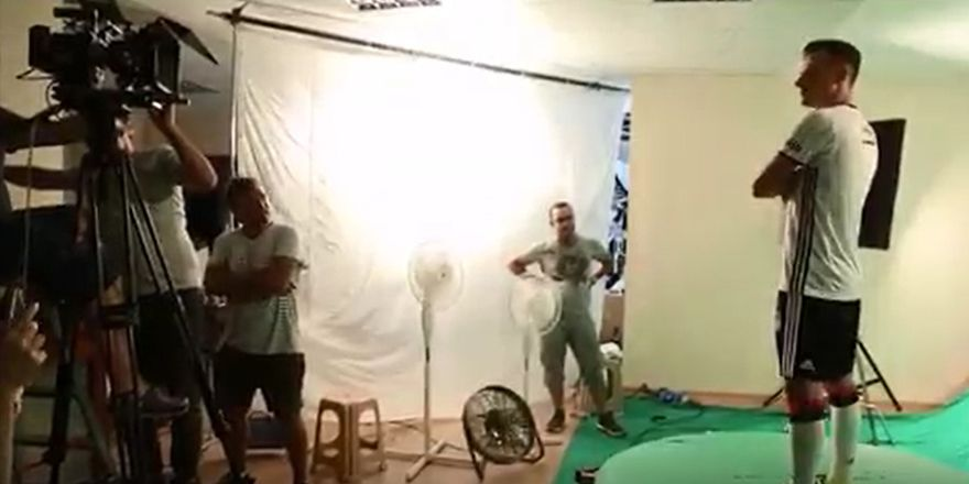 "adidas'ın ""Beşiktaş 2016-17"" reklam filmi - Kamera Arkası"