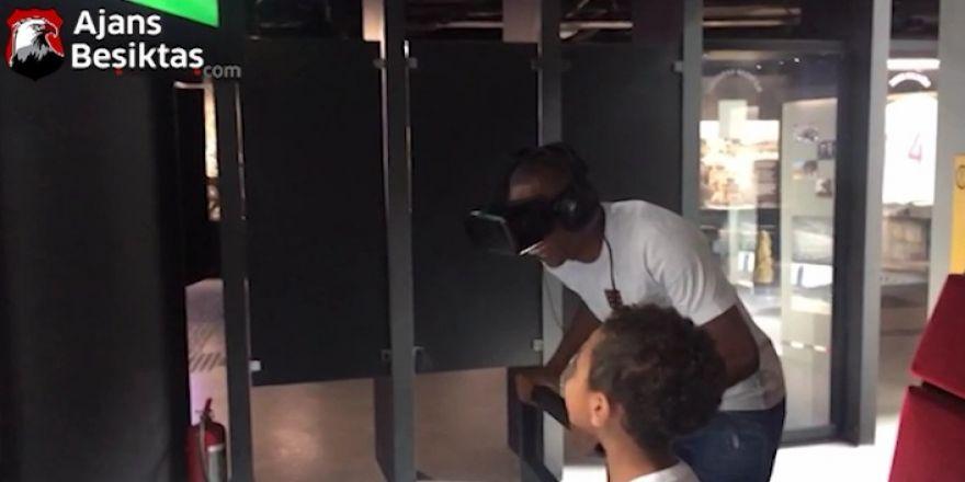 """ÖZEL   Marcelo, Beşiktaş Müzesi'nde """"Roller Coaster""""a binerse..."""