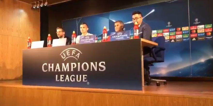 Şenol Güneş Porto'daki basın toplantısında neler söyledi?