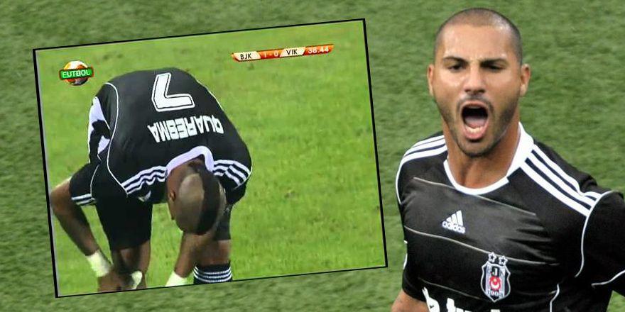 İyi ki doğdun Quaresma! İşte Beşiktaş'taki ilk golü