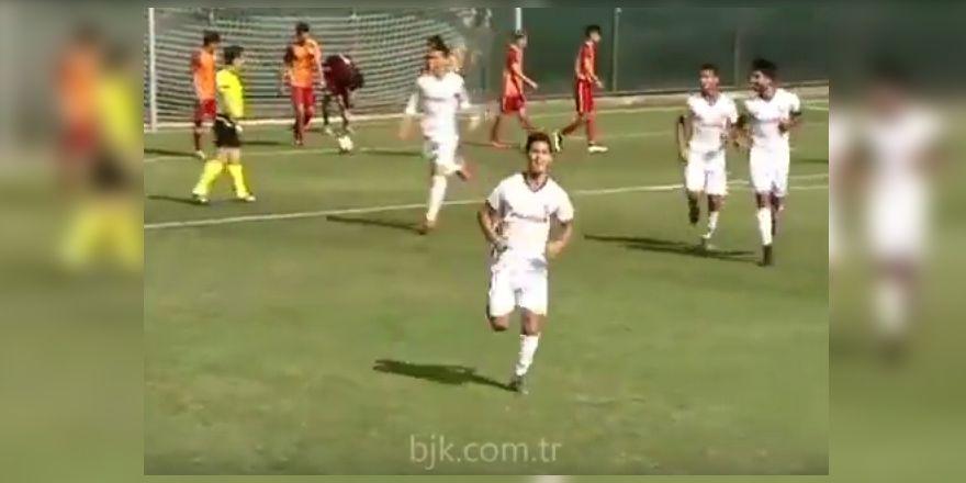 Beşiktaş U-19 akademi takımı, G.Saray'ı 2-1 yendi