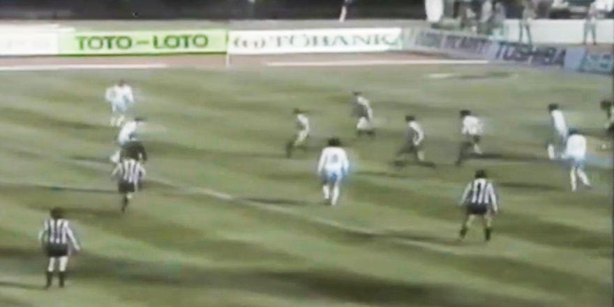 Beşiktaş - Dinamo Kiev maçı (1987)