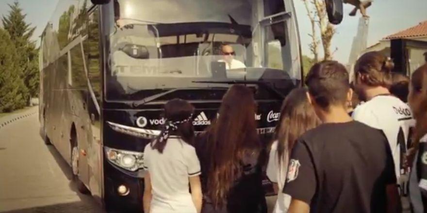 Temsa'nın Beşiktaş reklamı