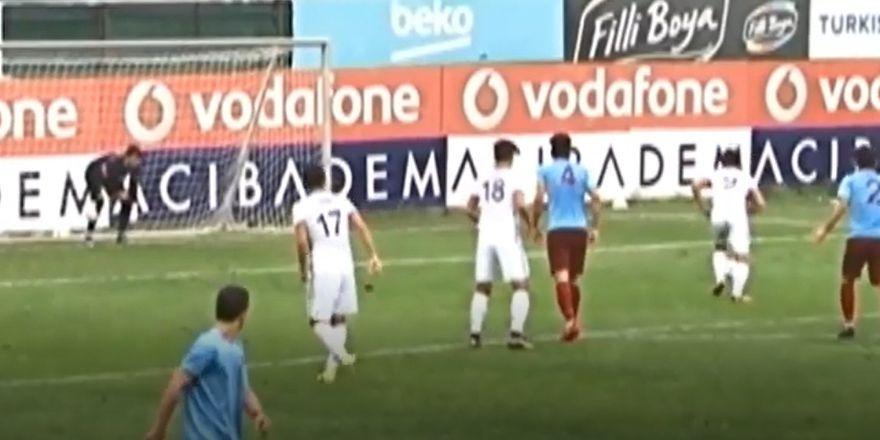 U-21 takımının Trabzonspor'u 2-1 yendiği maçın golleri