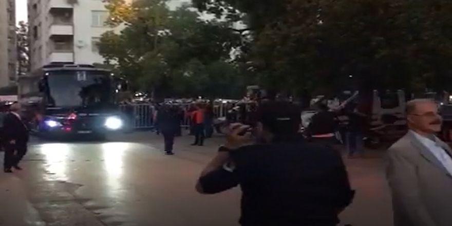 Beşiktaş, 5 Ocak Fatih Terim Stadyumu'na geldi