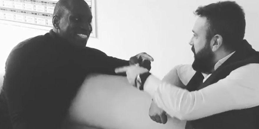 Demba Ba ile siyah-beyaz en büyük Beşiktaş!