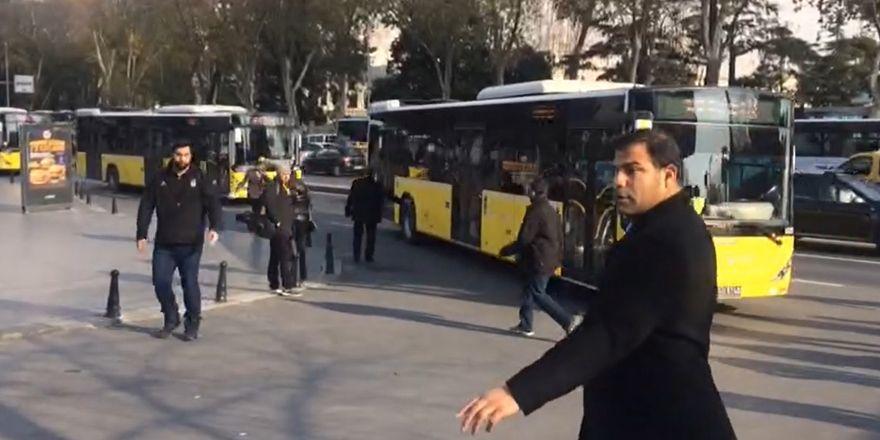 Beşiktaş taraftarını Kadıköy'e götürecek otobüsler stada geldi